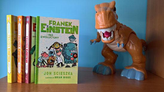 Franek Einstein i pas ewolucyjny, Jon Scieszka